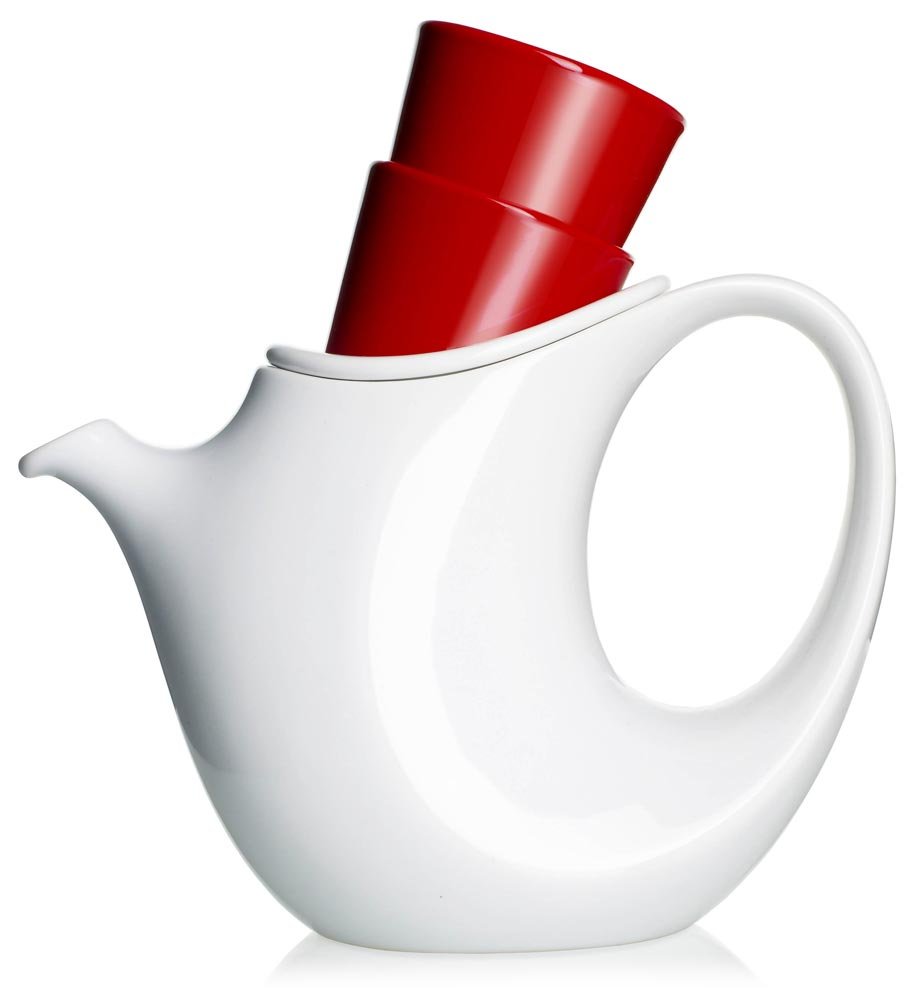 Mint One Handed Teapot
