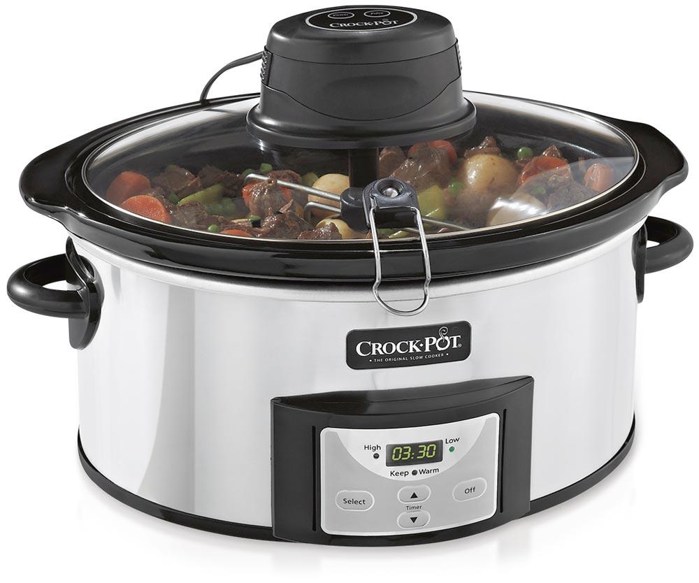 Crock Pot iStir Cooker Design